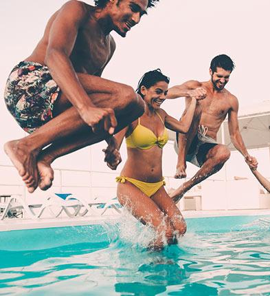 propriétaires de piscines privées