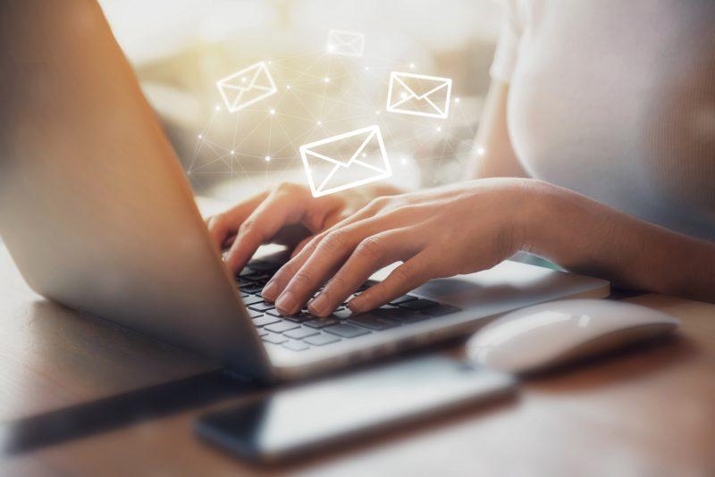 Base de données emails
